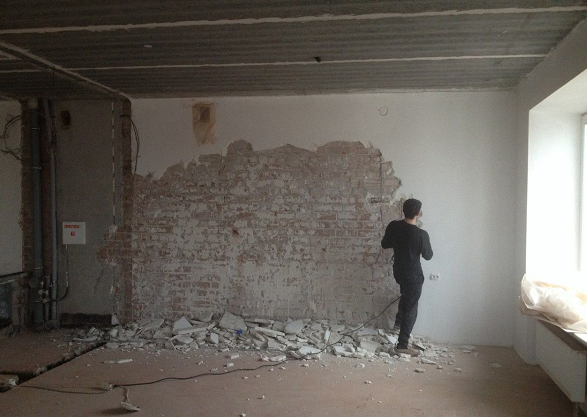 Подготовка цементного раствора для штукатурки стен цементный раствор для выравнивания стен состав